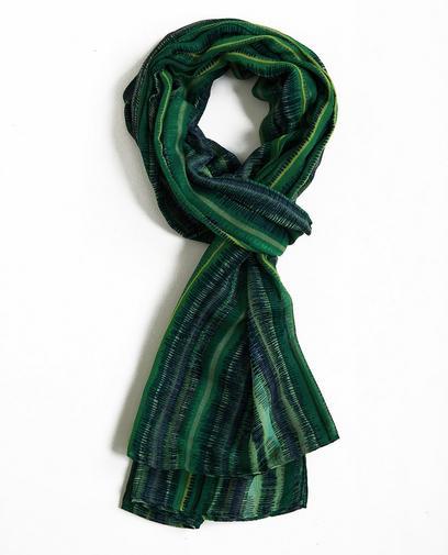 Sjaal met grafische print